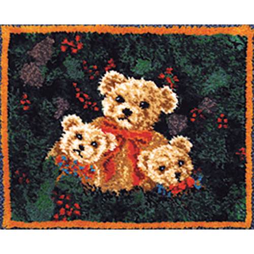 Bears Latch Hook Rug Kit