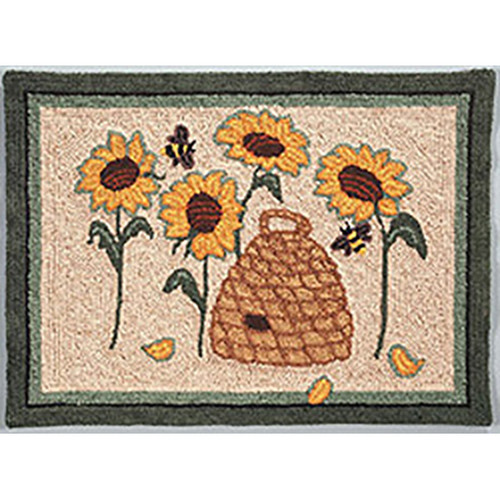 Bloomin' Bee Punch Needle Rug Kit