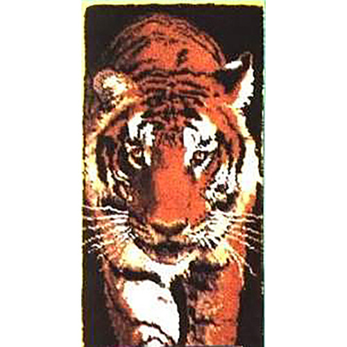 Prowling Tiger Latch Hook Rug Kit