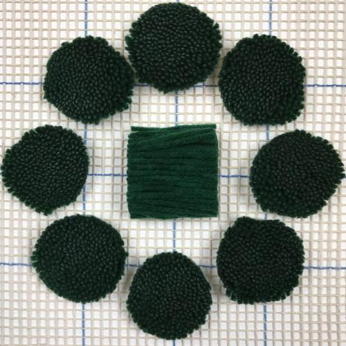 Emerald Pre-cut Latch Hook Yarn