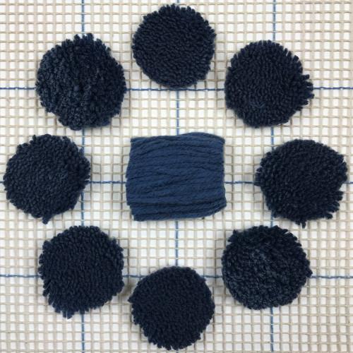 Periwinkle Pre-cut Latch Hook Yarn