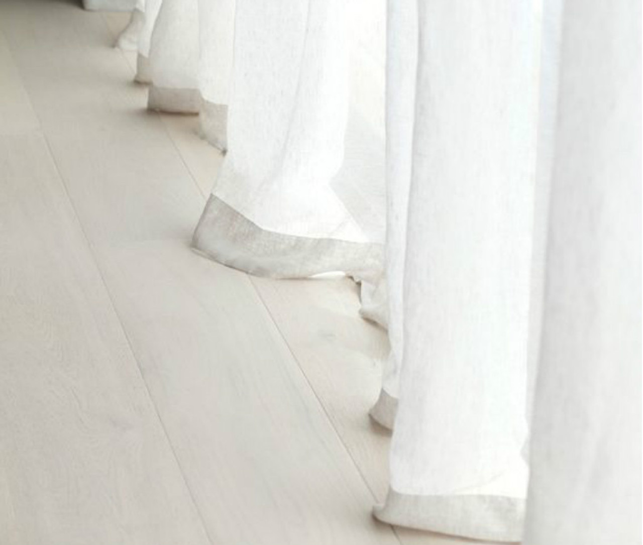 white linen sheer curtains - White Sheer Curtains