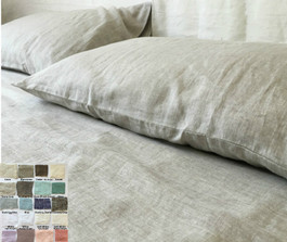 Linen Sheets Set   Natural Linen