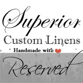Heirloom Quality Bed Linens and Home Decor, crafted from