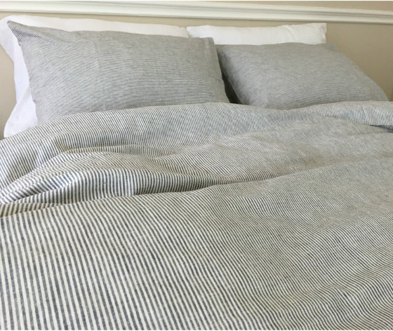 Black White Striped Duvet Cover · Black And White Pinstripe Duvet Cover ...
