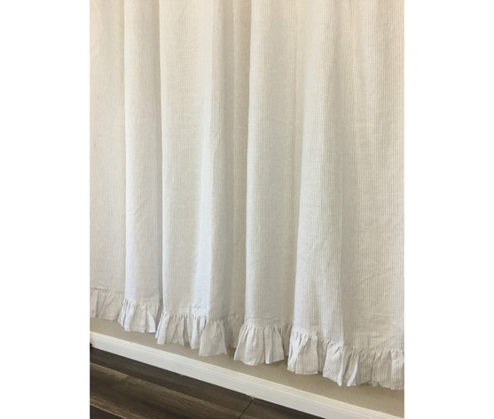 grey and white striped shower curtain.  Light Grey And White Striped Shower Curtain Stone Grey White Ticking Striped Linen Shower Curtain With Self