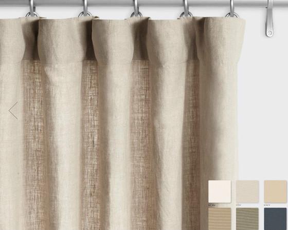 Belgian Linen Curtains