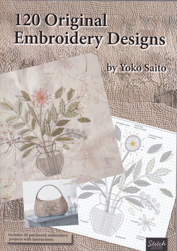 120 Original Emboidery Designs - English Translation YS-11-13