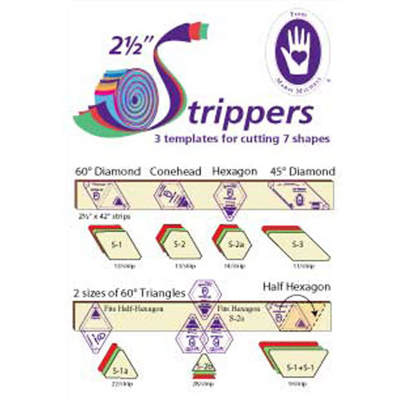 2.5 Inch Strippers Template MMT-8059