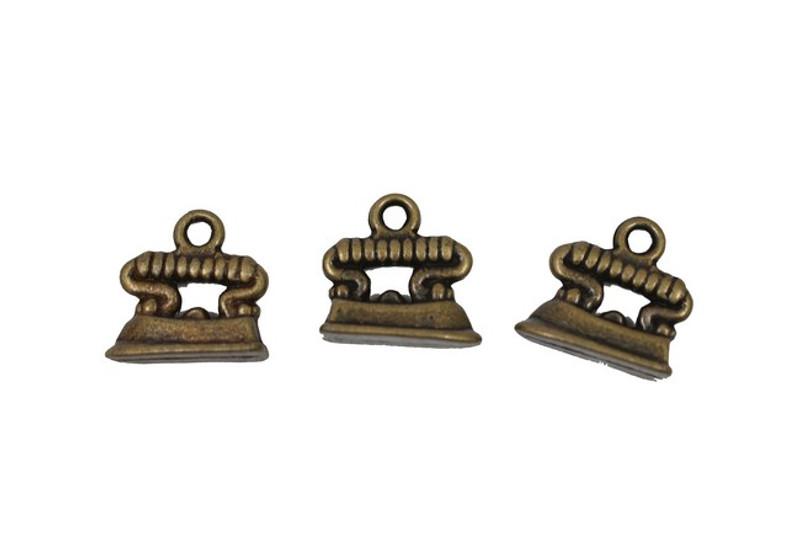 3 Irons Metal Zip-Pulls FK27-AG