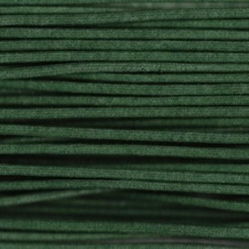 Waxed Cotton Cording Green WCC-13