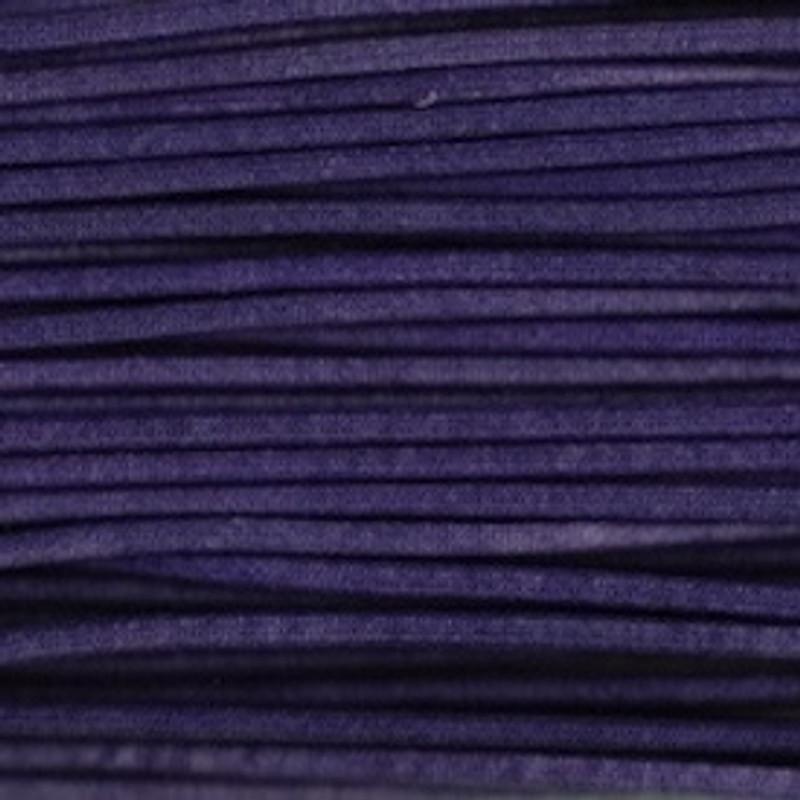 Waxed Cotton Cording Purple WCC-17