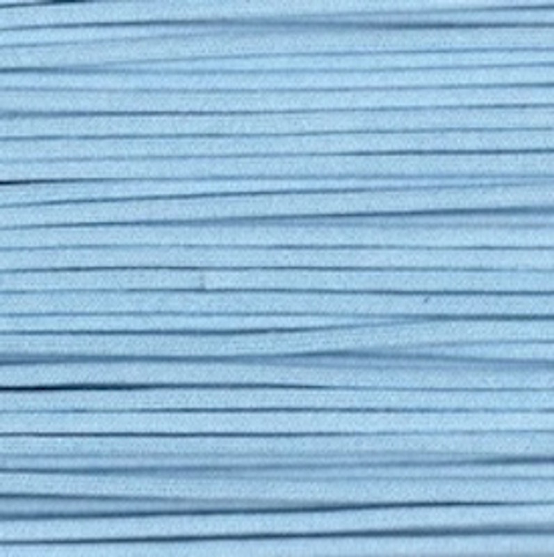 Waxed Cotton Cording Light Blue WCC-18