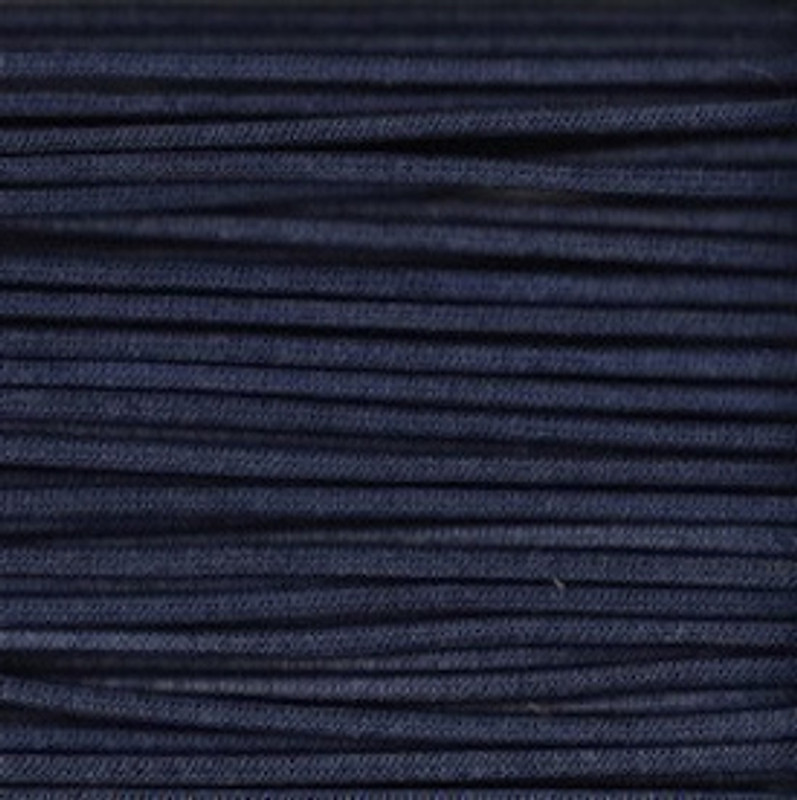 Waxed Cotton Cording Navy WCC-23