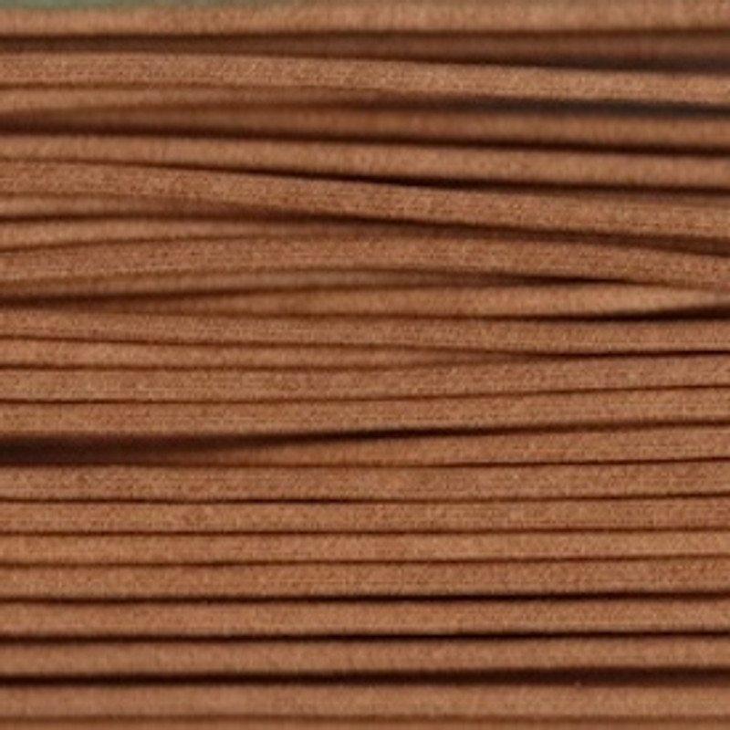 Waxed Cotton Cording Light Brown WCC-5