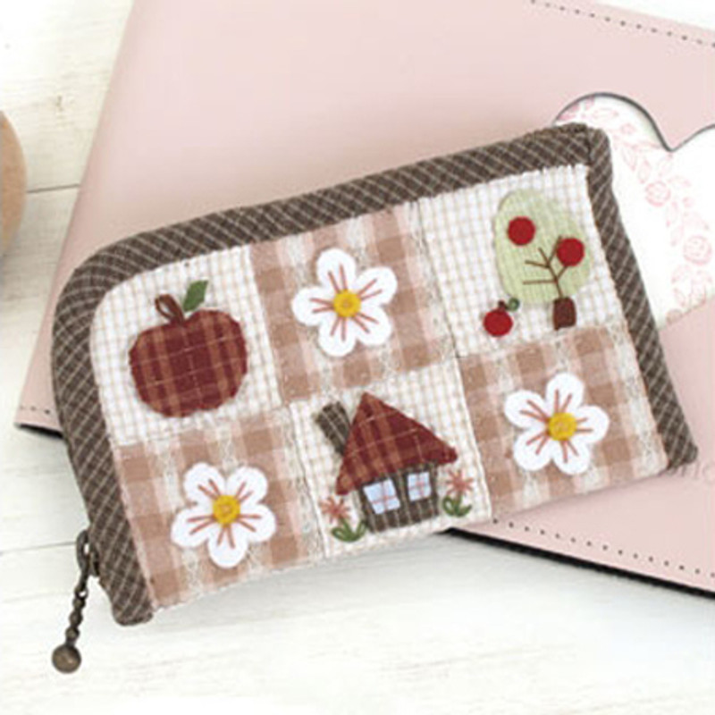Olympus Patchwork Kit Apple House Zip Case PA-599