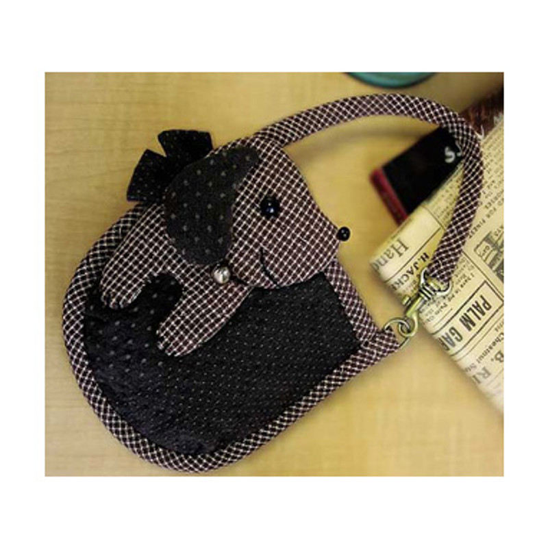 Olympus Patchwork Kit Dachshund Mobile Phone/Camera Pouch PA-417