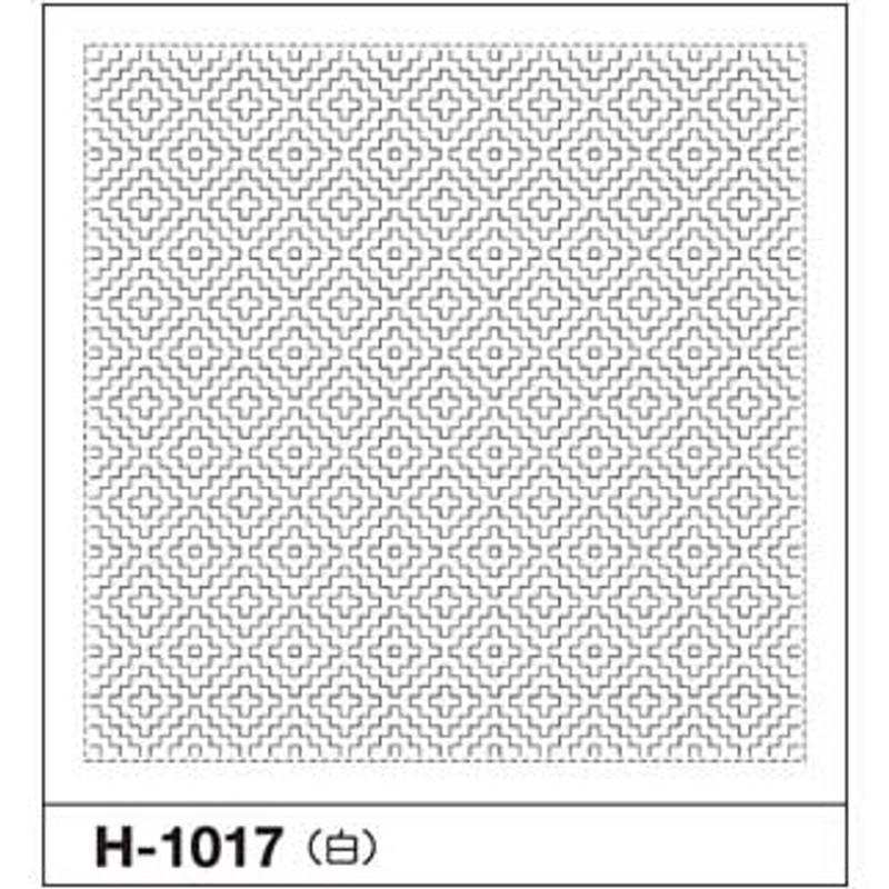 Sashiko Sampler Double Persimmon SS-H-1017