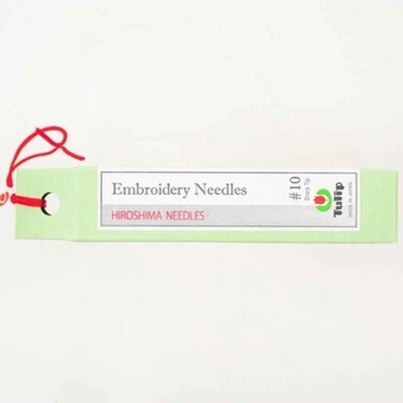 Embroidery Needles #10 Sharp Tip THN-022e