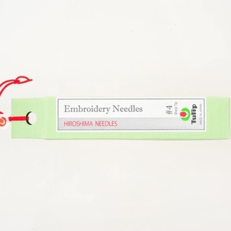 Embroidery Needles #4 Sharp Tip THN-016e