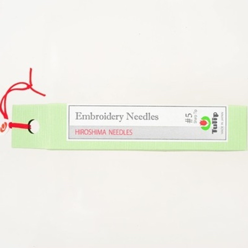 Embroidery Needles #5 Sharp Tip THN-017e