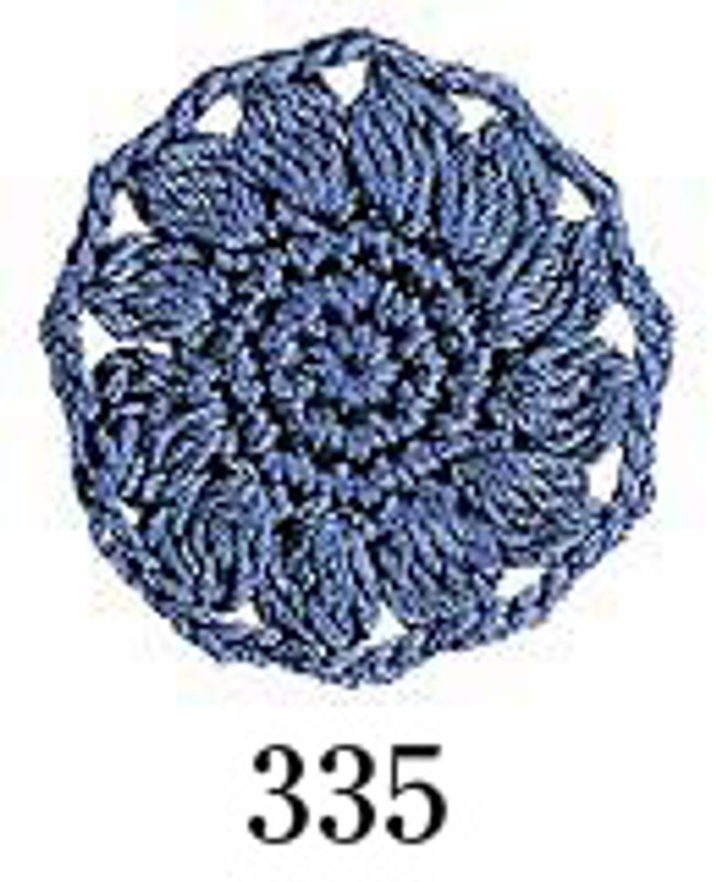 Crochet Thread Emmy Grande Solid Blue-Grey EGS-335