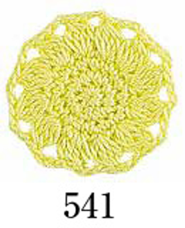Crochet Thread Emmy Grande Solid Bright Yellow EGS-541