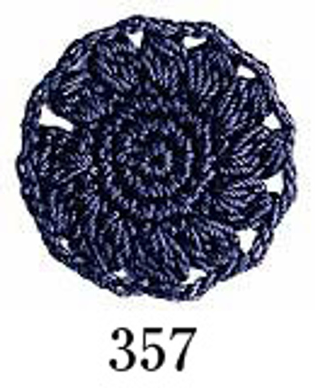 Crochet Thread Emmy Grande Solid Cobalt Blue EGS-357