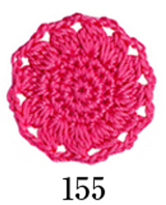 Crochet Thread Emmy Grande Colours Bright Pink EGC-155