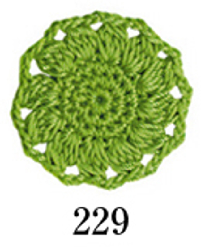 Crochet Thread Emmy Grande Colours Lime Green EGC-229