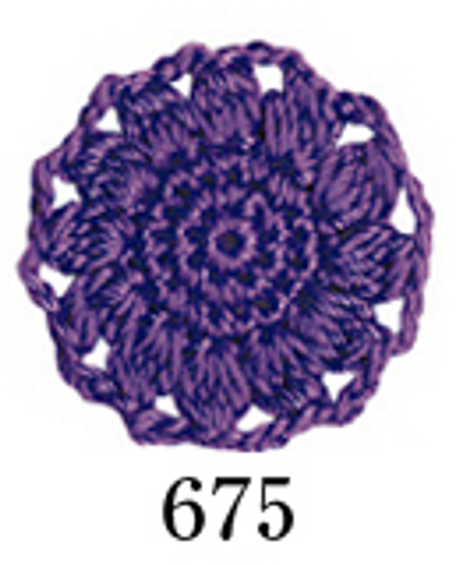 Crochet Thread Emmy Grande Colours Purple EGC-675