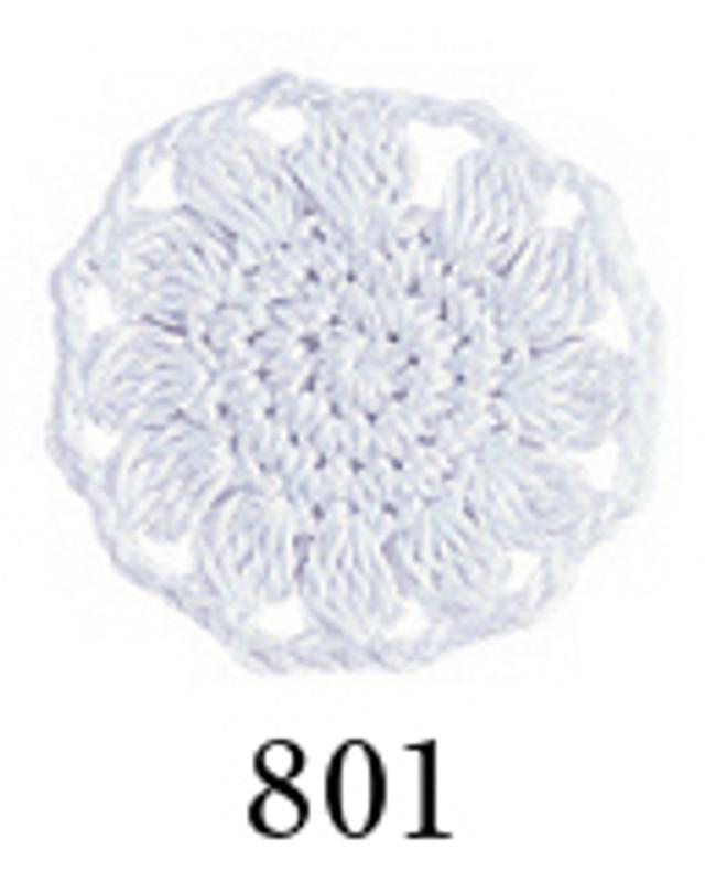 Crochet Thread Emmy Grande Colours White EGC-801
