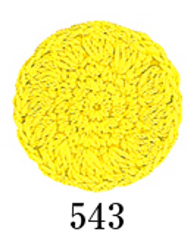 Crochet Thread Emmy Grande Colours Yellow EGC-543