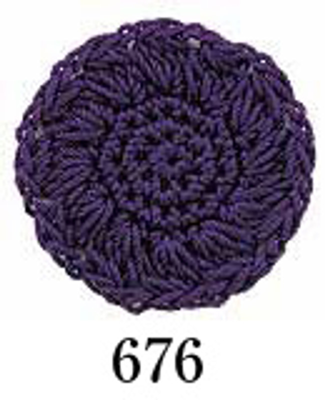 Crochet Thread Emmy Grande Solid Grape EGS-676