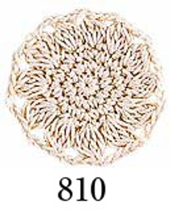 Crochet Thread Emmy Grande Solid Light Brown EGS-810