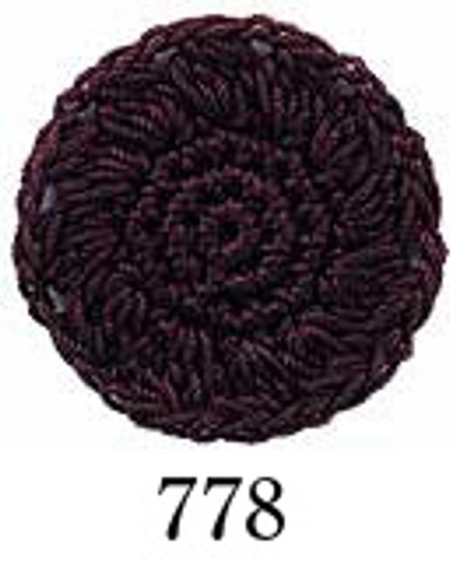 Crochet Thread Emmy Grande Solid Maroon EGS-778