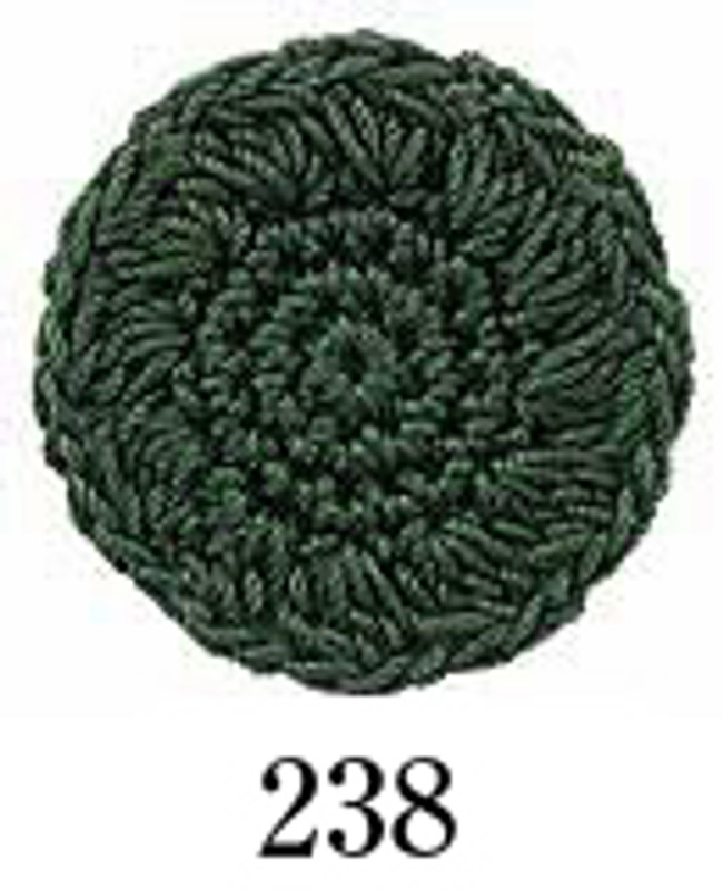 Crochet Thread Emmy Grande Solid Moss Green EGS-238