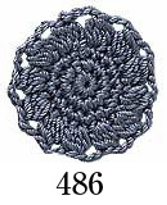 Crochet Thread Emmy Grande Solid Steely Grey EGS-486