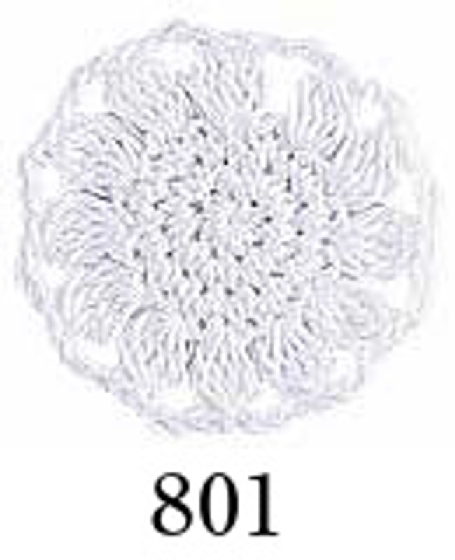 Crochet Thread Emmy Grande Solid White EGS-801