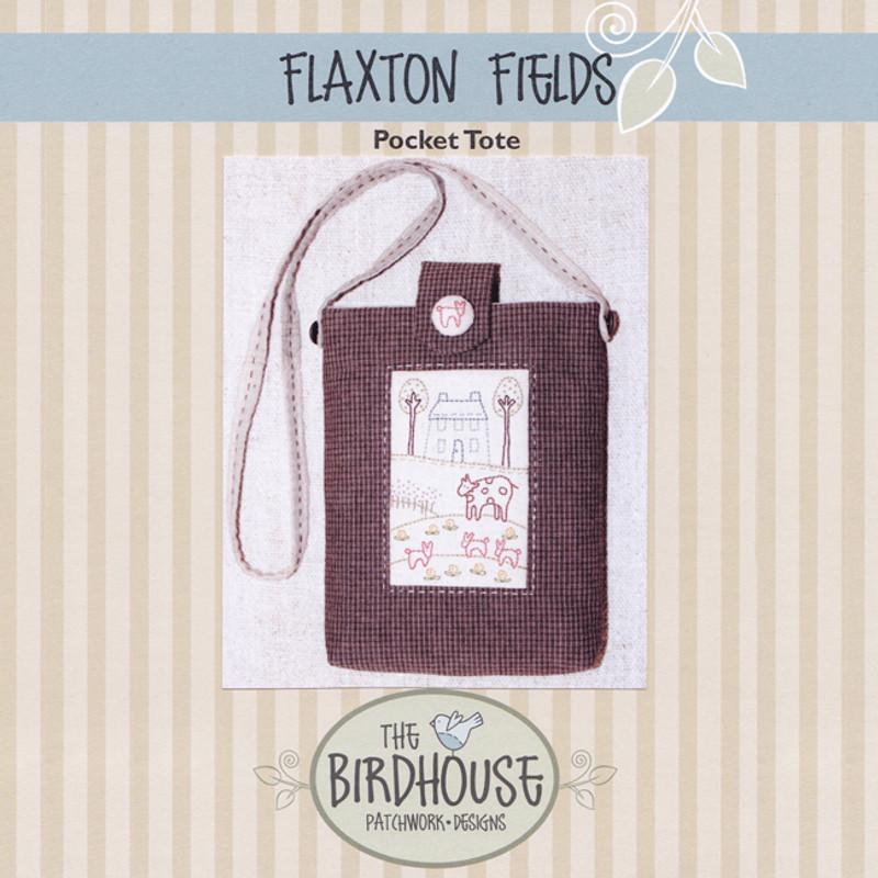 Flaxton Fields - Pocket Tote BPD-D275