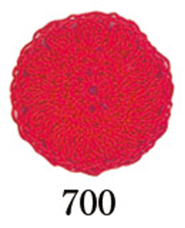 Crochet Thread Gold Label Bright Red GL-700