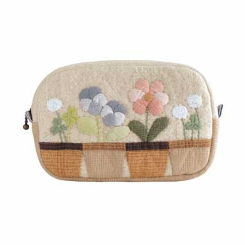 Olympus Patchwork Kit Happy Garden Tissue Pocket Pouch PA-538