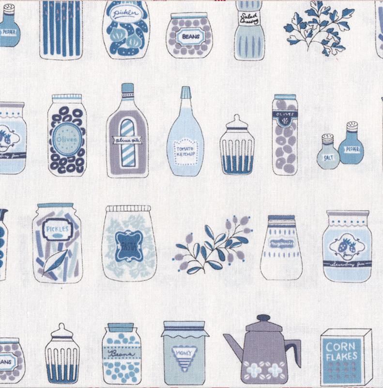 Kitchen Blue on White DN22404S-B