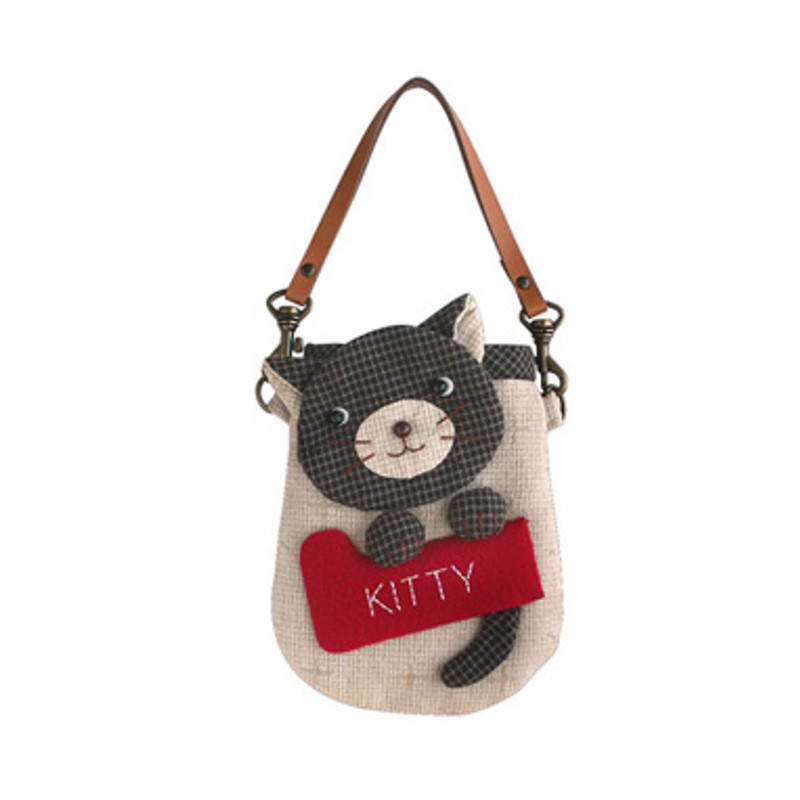 Olympus Patchwork Kit Kitty Mobile Phone/Camera Pouch PA-529