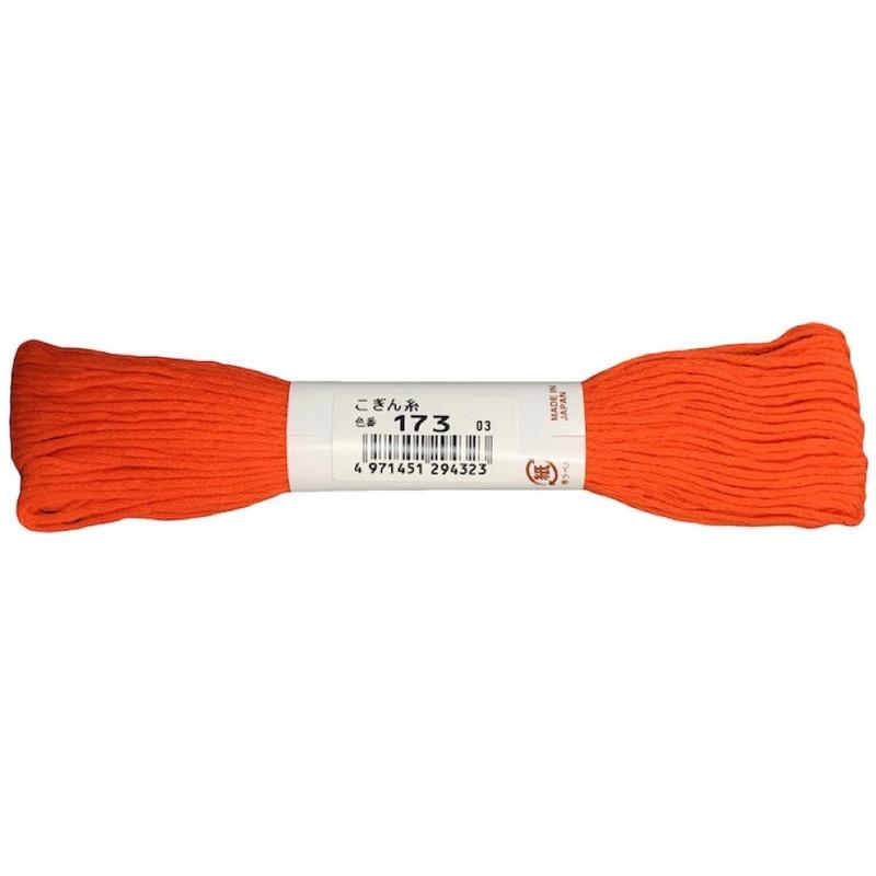 Kogin Thread 18mt Fluro Orange KT-173