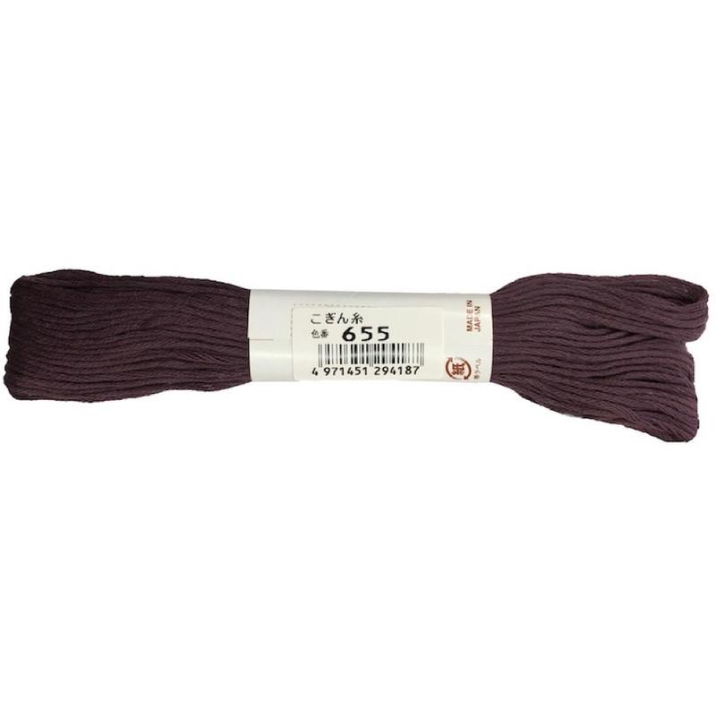 Kogin Thread Purple KT-655