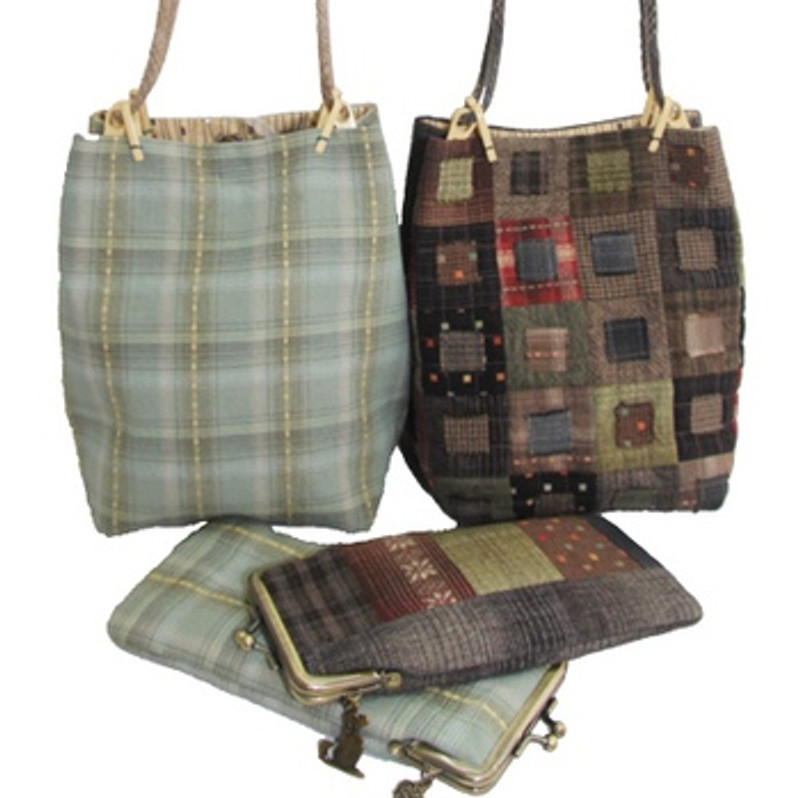 Koki Bag Pattern with Glasses Case PBK-1961
