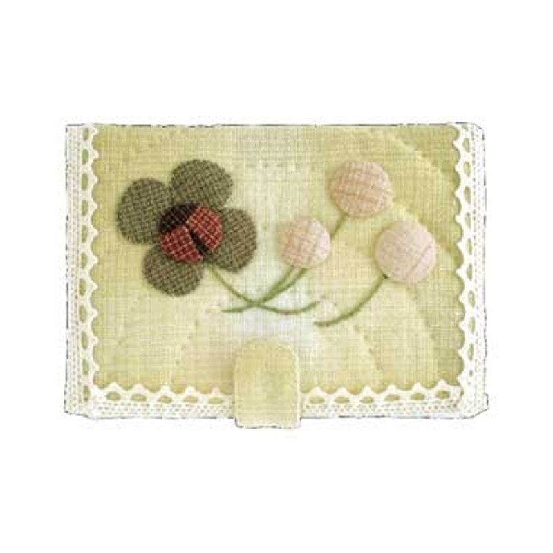 Olympus Patchwork Kit Lady Bug & Clover Card Holder PA-539