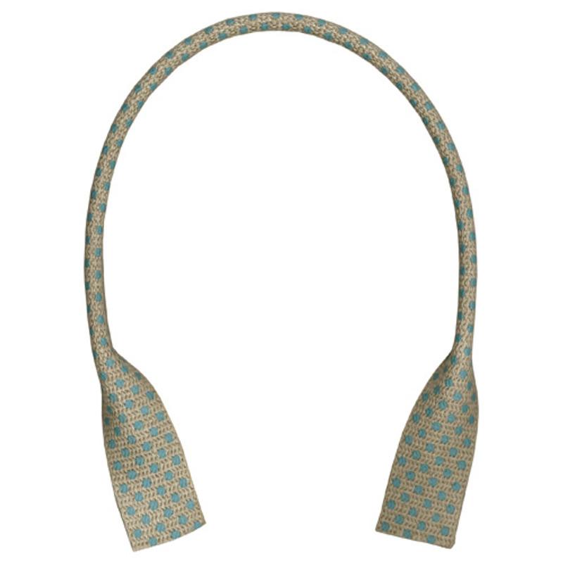 Linen Bag Tape Handles 41cm Spotty YAT-4182