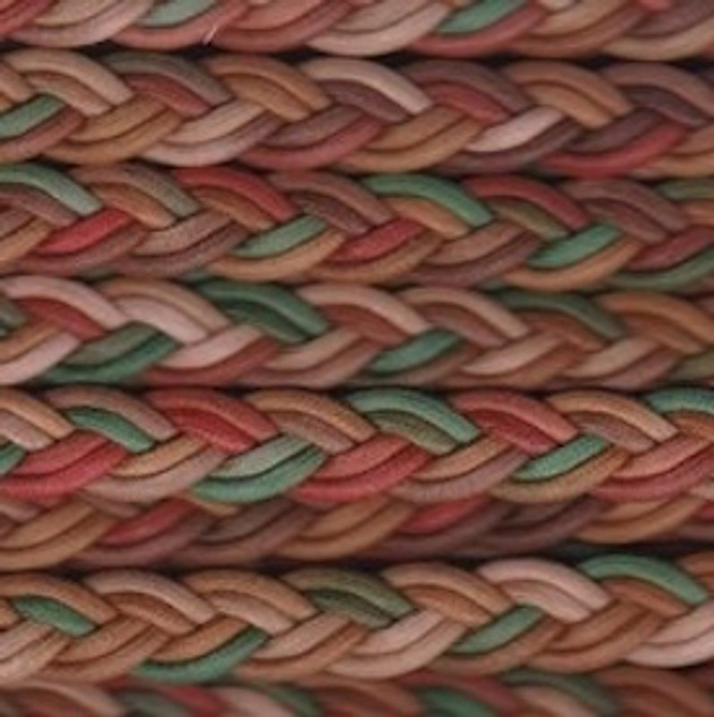 Multi Coloured Plaited Cording BT-1553-205